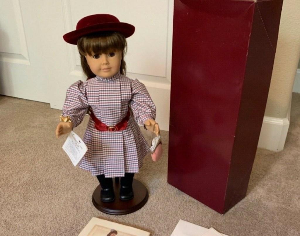 Samantha american girl doll with box