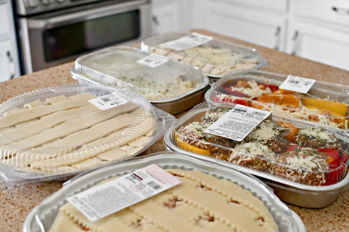 Sam's Club Vs Costco Prepared Foods on the counter