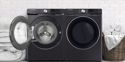 Samsung Electric Washer & Dryer Only $1556 Shipped (Regularly $2200)