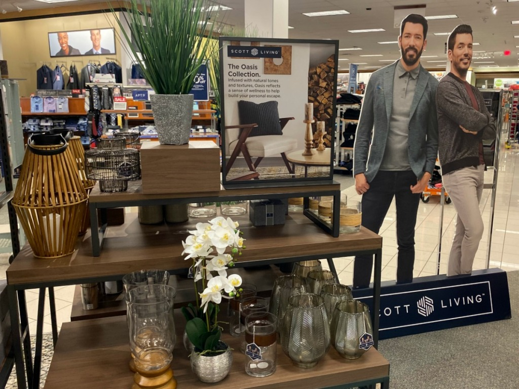 Scott Living Collection on display at Kohl's