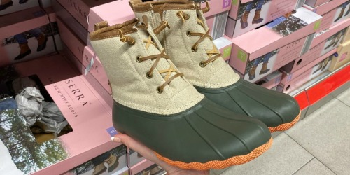 Ladies Winter Boots Only $24.99 at ALDI