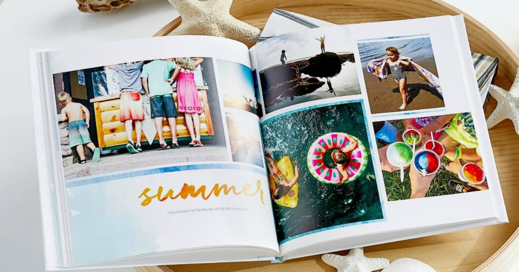 Shutterfly Photo Book with summer photos