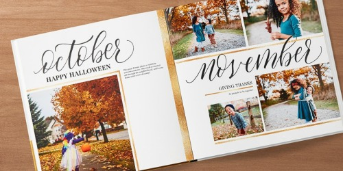 Shutterfly Hard Cover Photo Book Just $7.99 Shipped (Regularly $30)