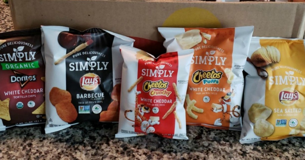 Simply Organic Chips Variety Pack