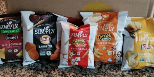Simply Organic Chips Variety Pack 36-Count Only $11 Shipped at Amazon (Just 31¢ Each)