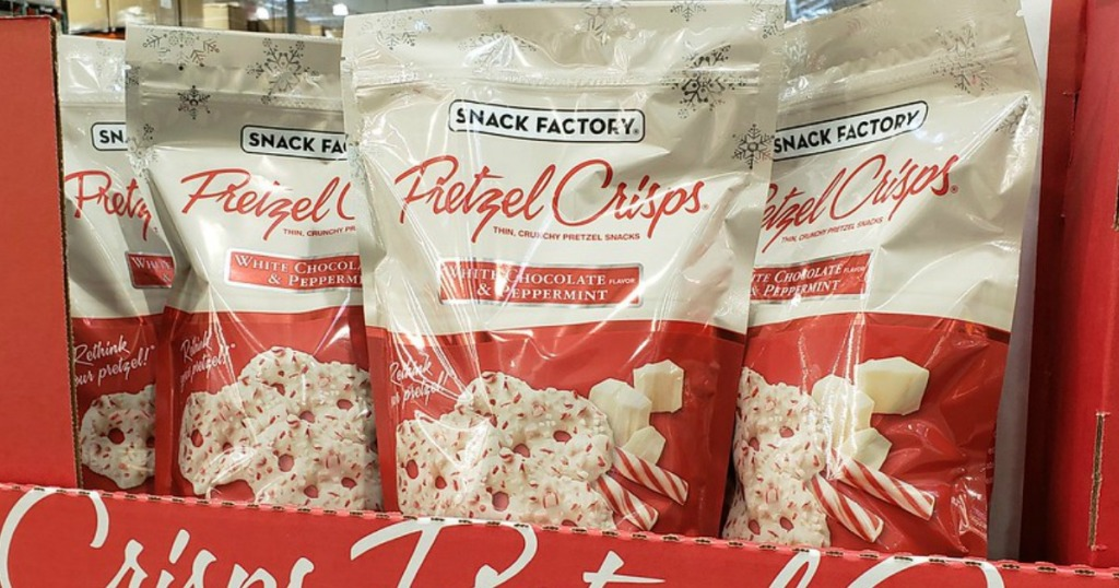 Snack Factory Holiday Pretzels