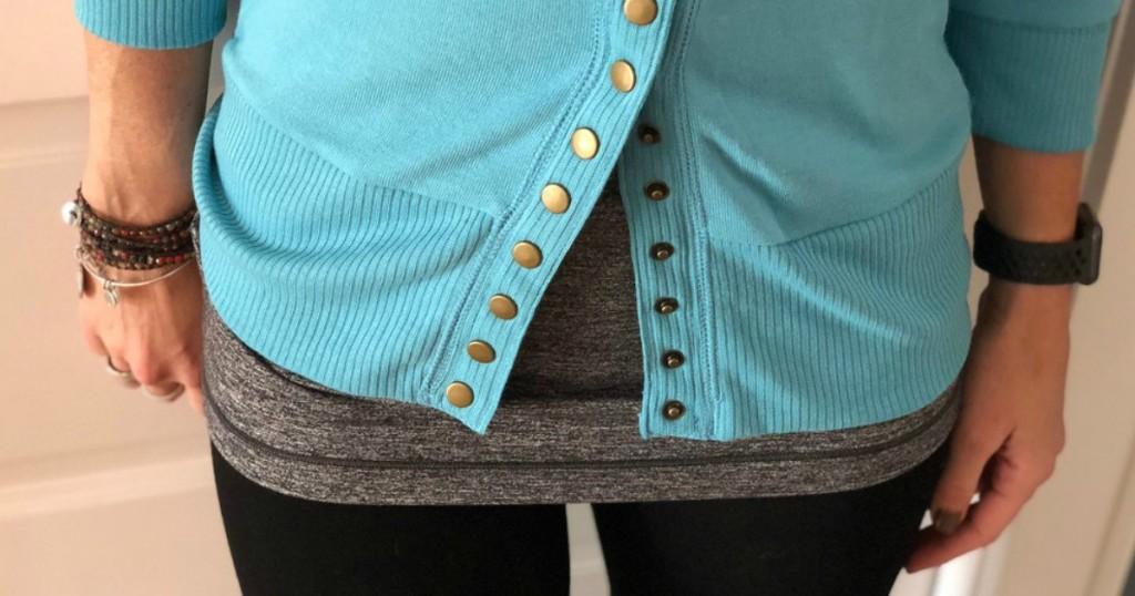 Snap Button Cardigan