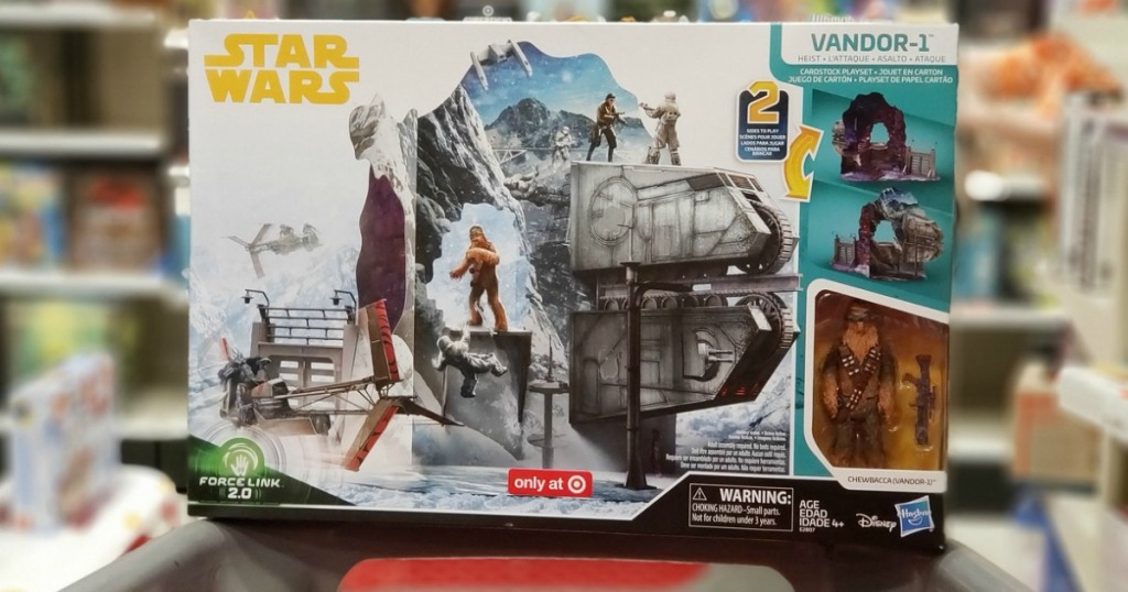Solo: A Star Wars Story Force Link 2.0 Vandor-1 Heist Target Exclusive Playset box at Target