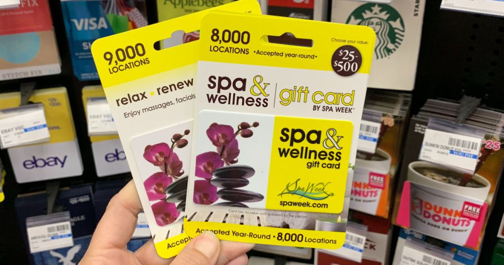 Spa & Wellness Gift Cards CVS