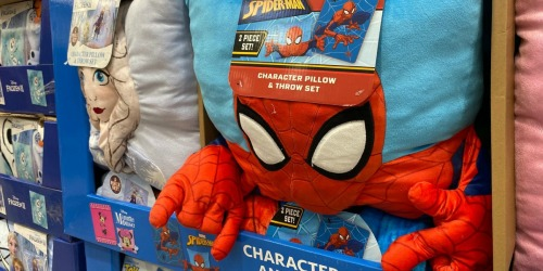 Disney & Marvel Kids Pillow & Throw Blanket Sets Only $14.99 at Costco