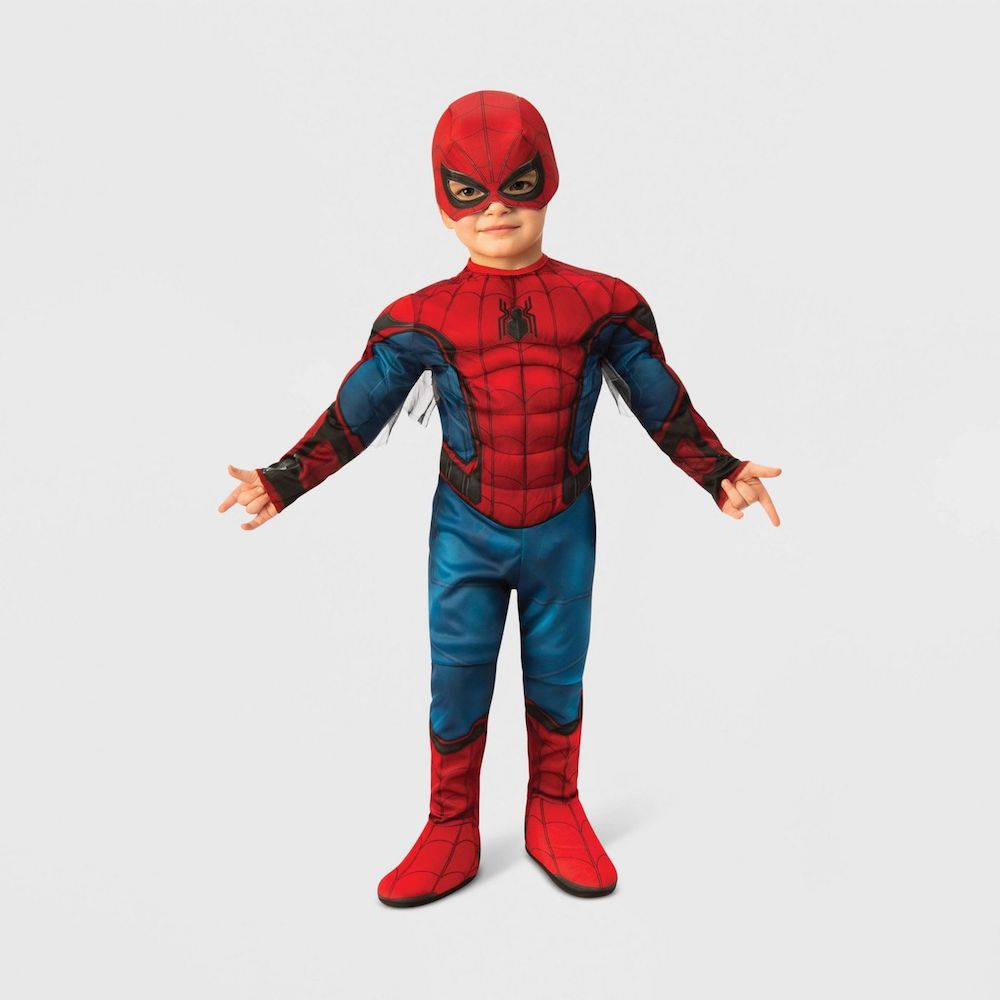 Toddler Spiderman Costume on boy