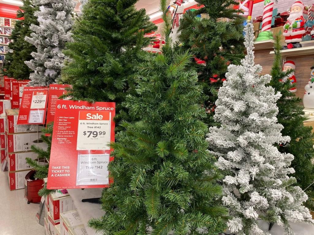 Spruce Prelit Tree