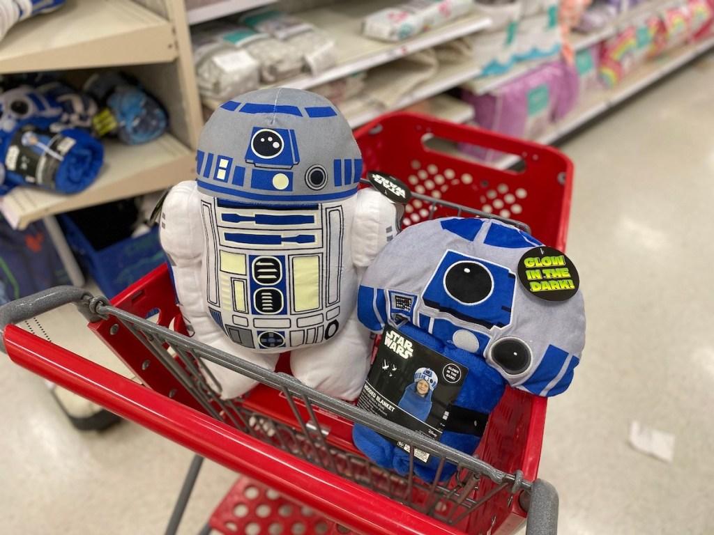 Star Wars Blanket and Stuffed Animal Target
