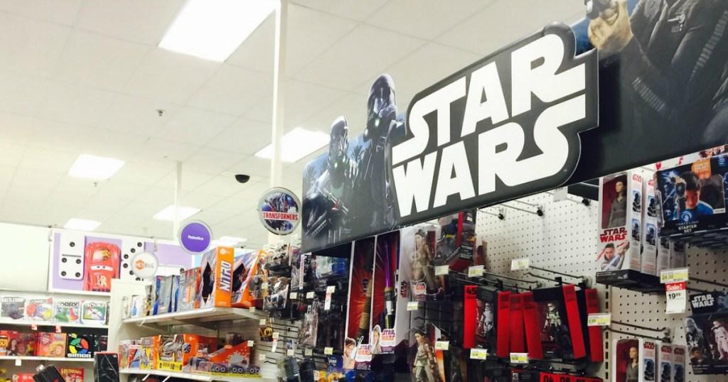 Star Wars toys at Target