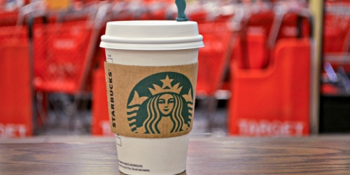 20% Off Starbucks Espresso & Frappuccino Drinks at Target Starbucks Cafes