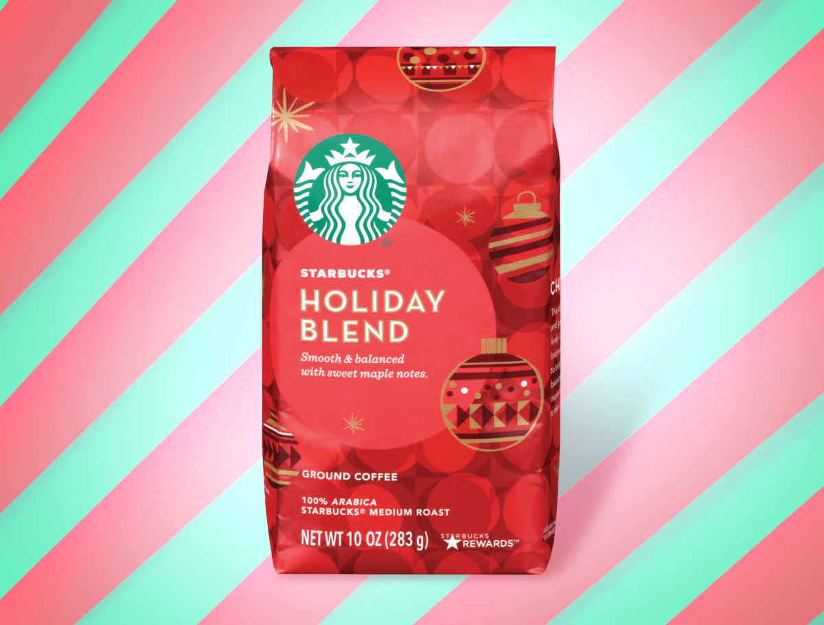 Starbucks Holiday Blend ground coffee