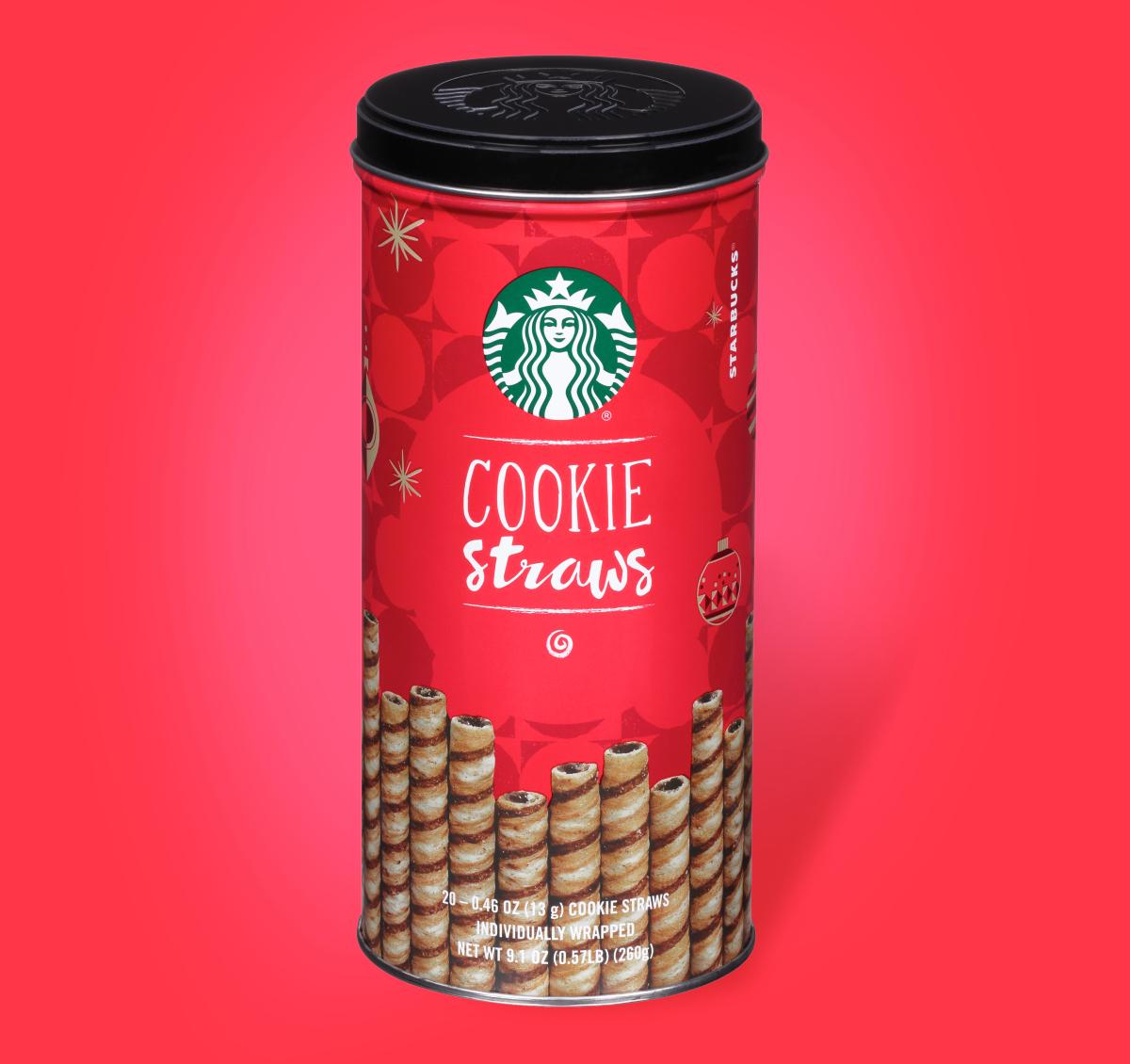 Starbucks Holiday Cookie Straws