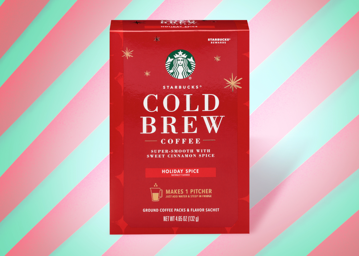 Starbucks Holiday Spice Cold Brew