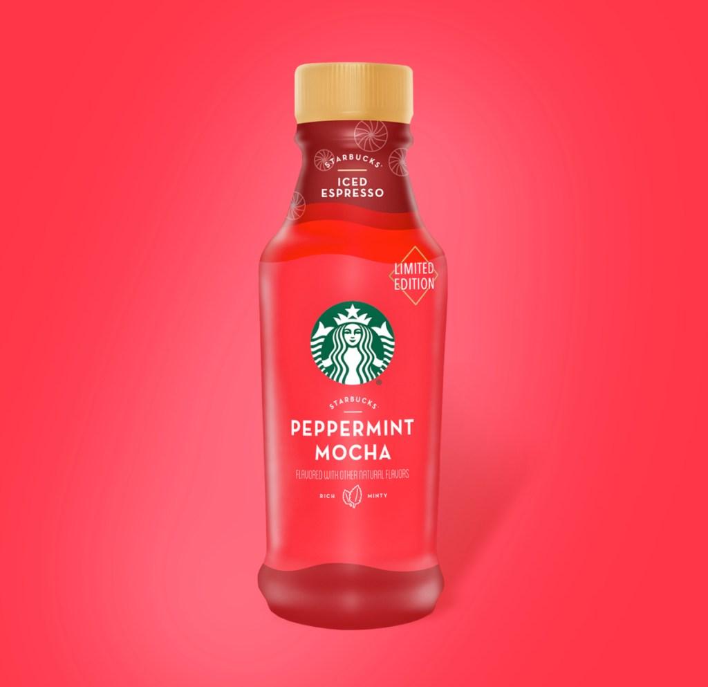 Starbucks Iced Espresso Peppermint Mocha