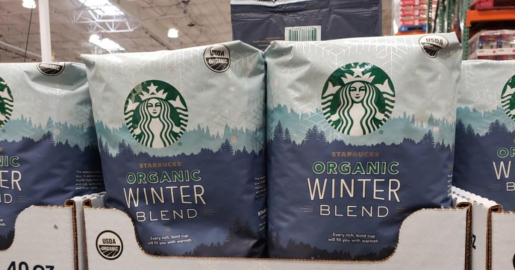 Starbucks Winter Coffee