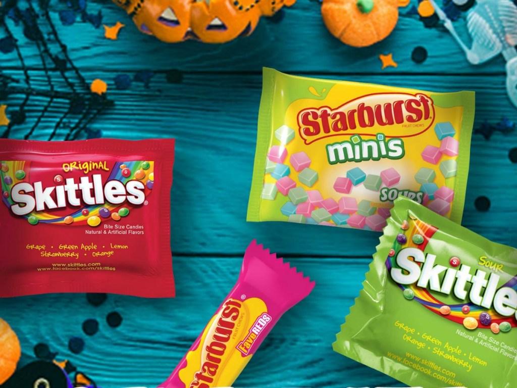Starburst Skittles Sweet and Sour Pack