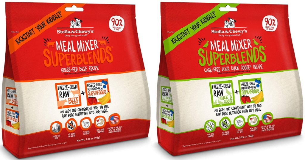 Stella & Chewy's Dried Meal Mixers Super Blends