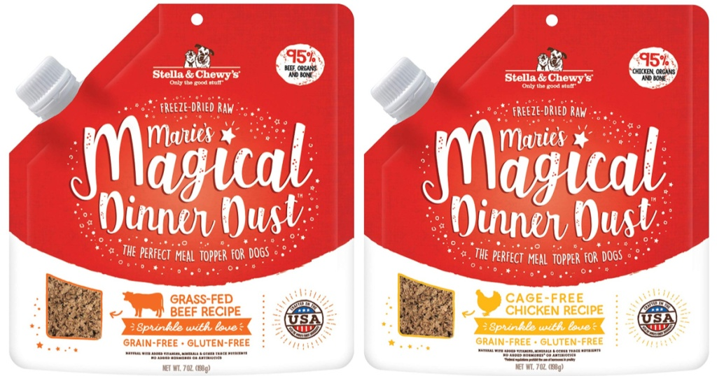 Stella & Chewy's Freeze Dried Magical Dinner Dust Meal Topper
