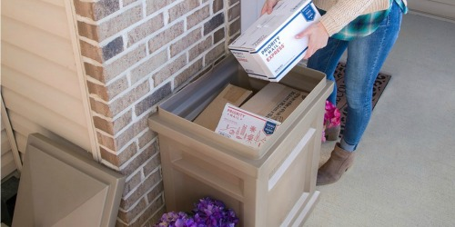 This Step2 Delivery Box Keeps Your Packages Out of Sight…