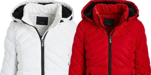 Steve Madden Women's Quilted Parkas Only $49.99 at Zulily (Regularly $250+)