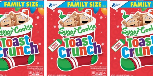 Sugar Cookie Toast Crunch Cereal Coming Back for Christmas