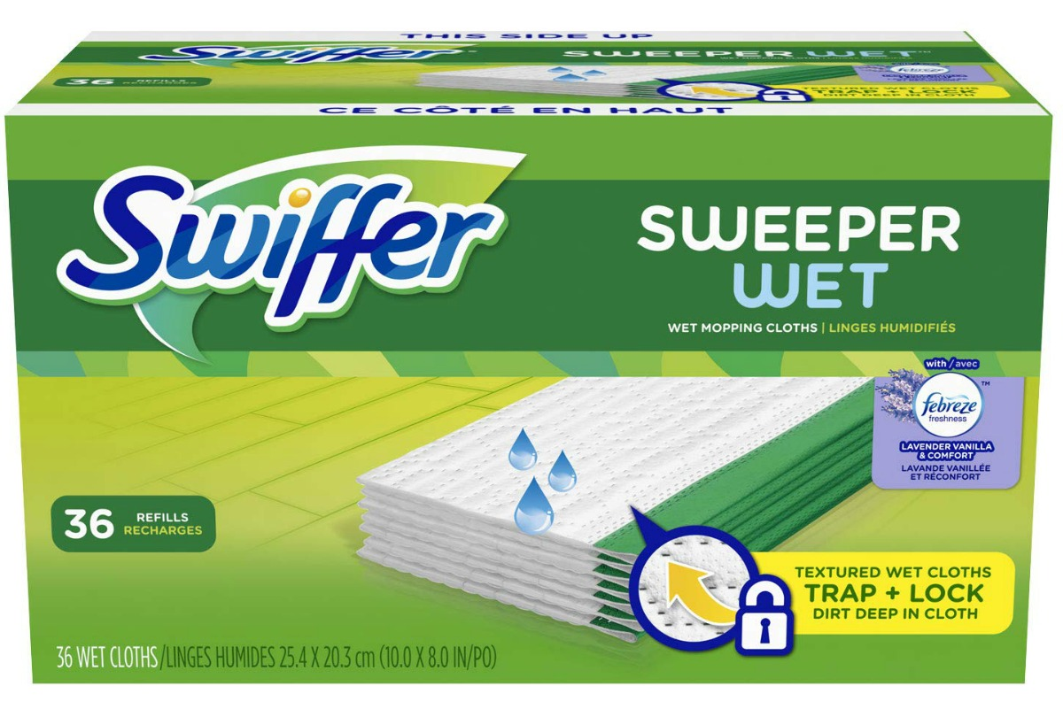 Swiffer refills with Febreeze scent
