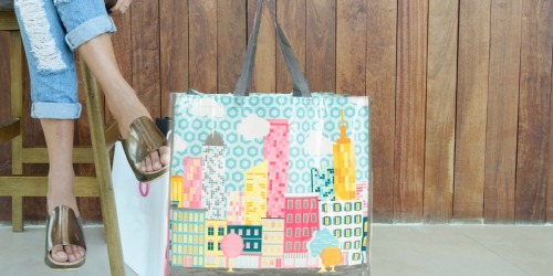 TJMaxx Reusable Bags Only 99¢ + FREE Shipping on ALL Orders