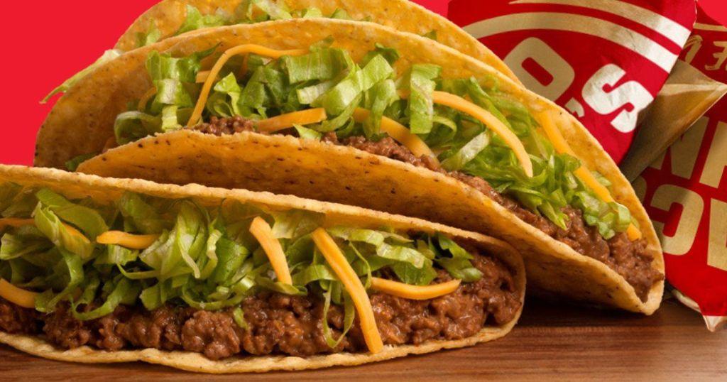 Taco John Beef Taco