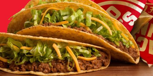 FREE Crispy or Softshell Beef Taco When You Download Taco John's App