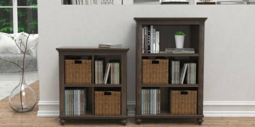 Tacoma Hill 3-Shelf Bookcase Only $34.89 at Home Depot (Regularly $78) + More