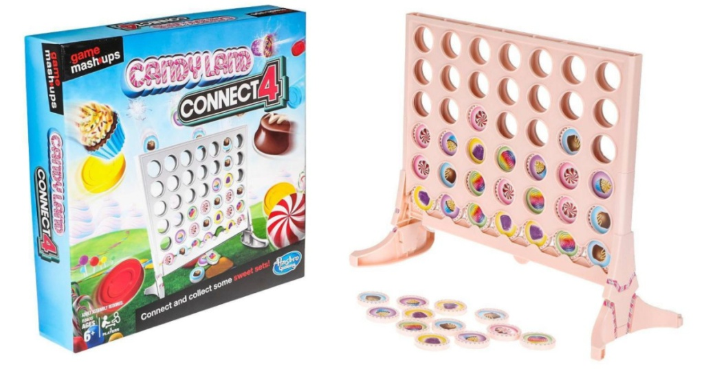 candy land and connect 4 mashup game