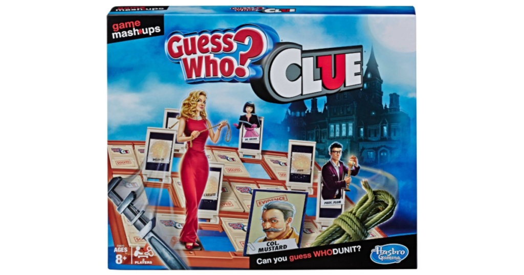 guess who and clue game mashup
