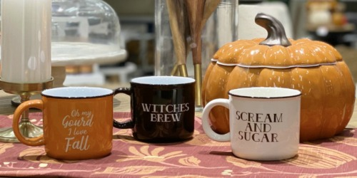 Target Has Gourd-Geous Seasonal Mugs & They're Only $5