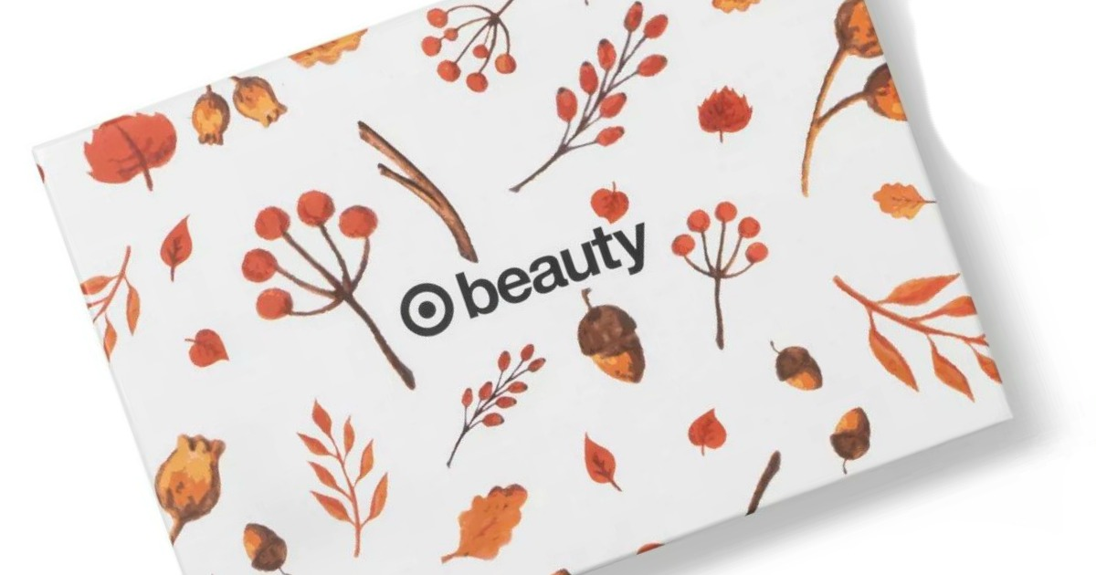 Target October Beauty Box