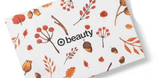 October Beauty Box Only $7 Shipped at Target