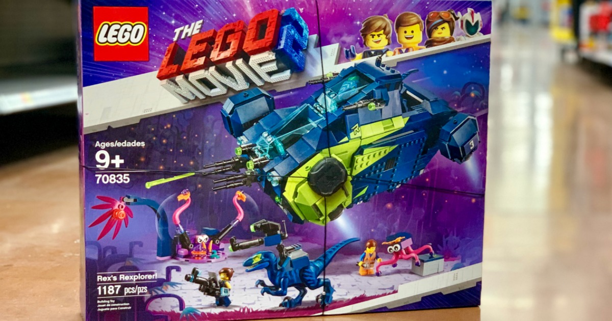 The Lego Movie 2 Rex's Rexplorer
