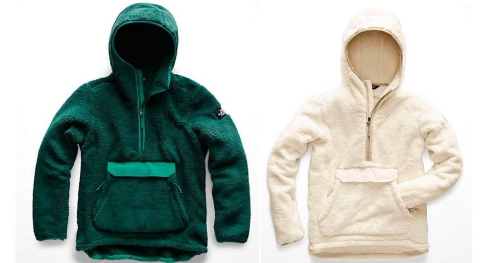 The North Face Jackets in green and white