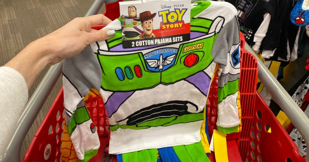 Toddler Boys' Toy Story 4pc Pajama Set