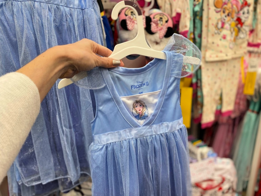 Toddler Girls' Frozen Elsa Night Gown