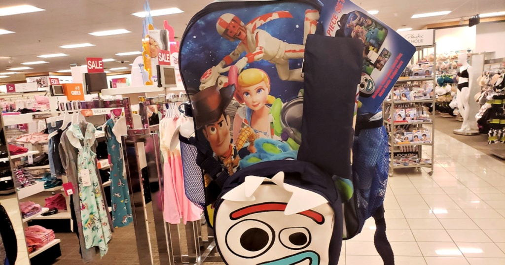 Toy Story 4 5-Piece Backpack Sets at Kohls