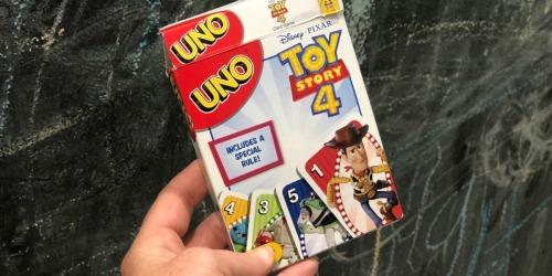 UNO Toy Story 4 Card Game Only $3.94 on Amazon | Fun Stocking Stuffer Idea