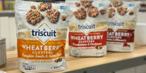 Triscuit Wheatberry Clusters Only $1.25 Each at Target After Cash Back