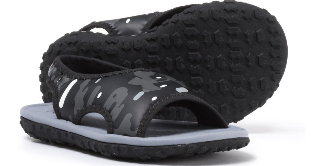 Under Armour Fat Tire Sandals in black