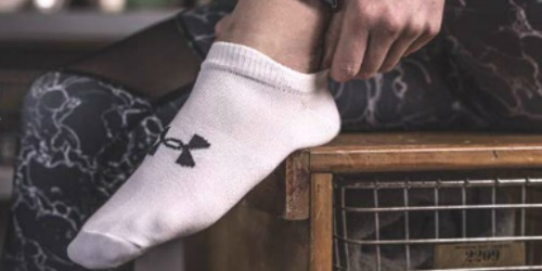 Under Armour Women's 6-Pack Socks Only $9.99 on Amazon (Regularly $20)