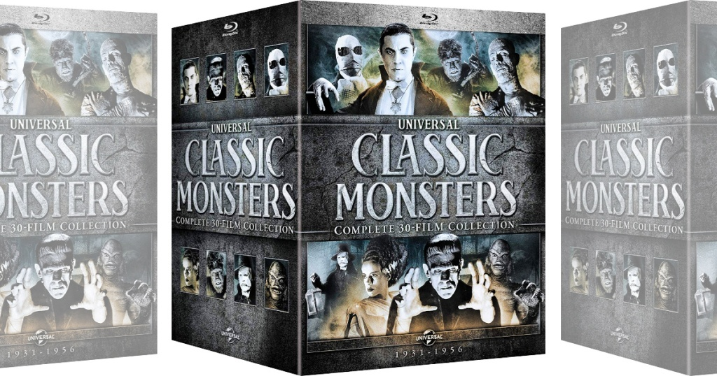 Universal Classic Monsters Complete 30-Film Blu-Ray Collection